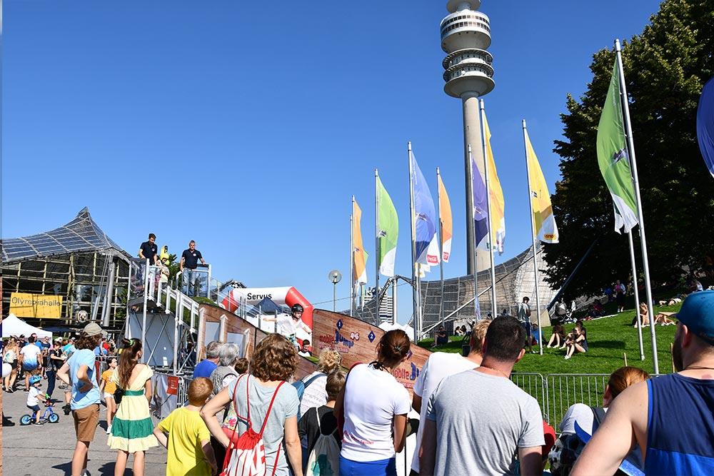 Outdoor-Sport Festival im Münchner Olympiapark