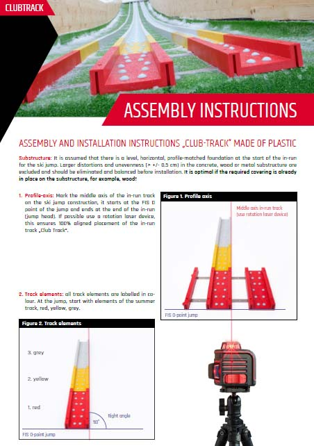 CLUB TRACK assembly instructions